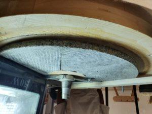 Restauration des pierres du moulin