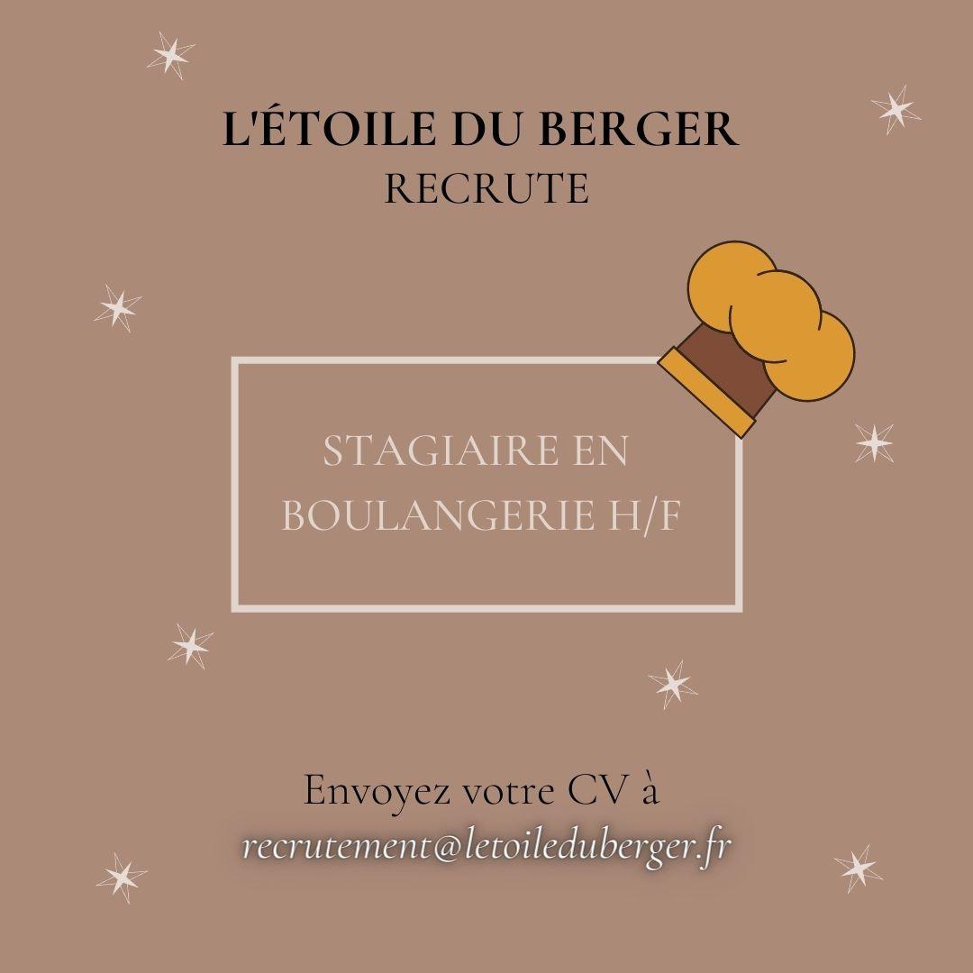 STAGIAIRE EN BOULANGERIE H/F